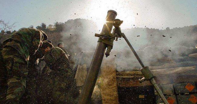 Украинская армия днем начала обстрел сел на юге ДНР