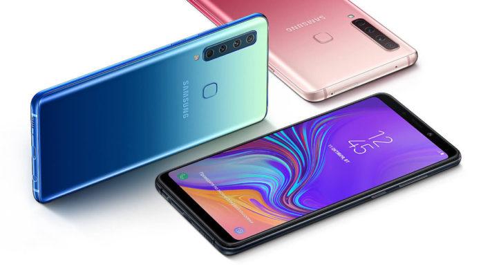 Начались российские продажи первого смартфона Samsung с квадрокамерой