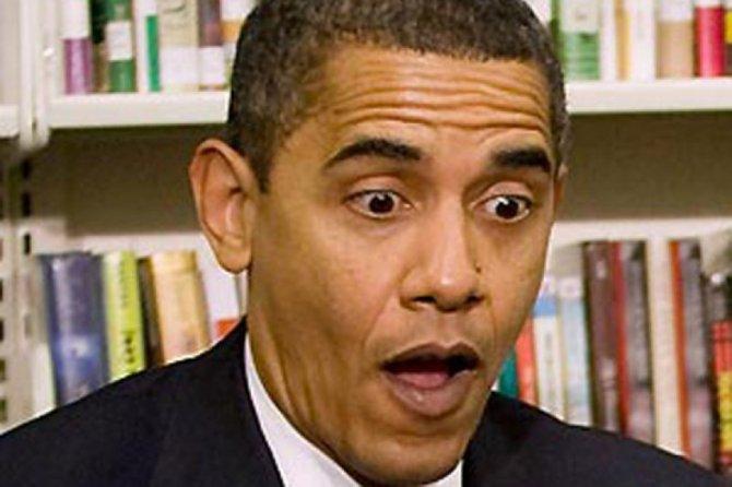 Обаму снова опозорили на вес…