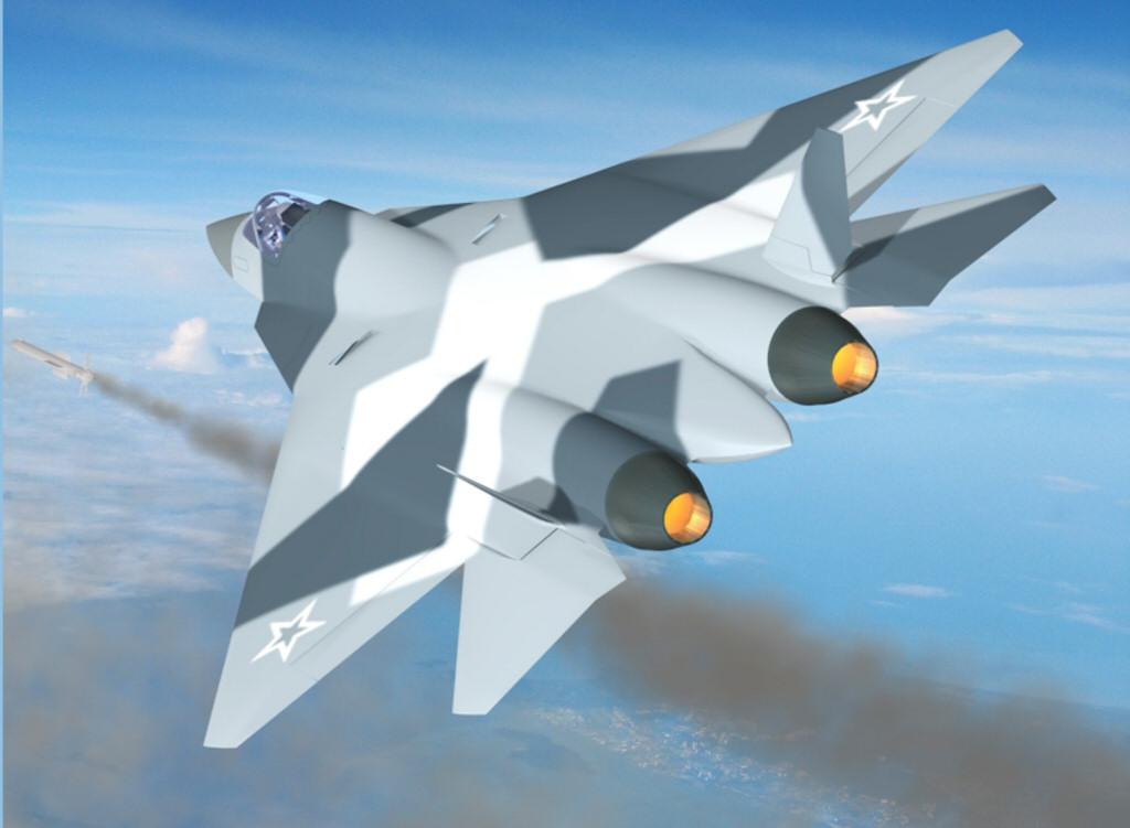 СЛУХ: Россия откажется от строительства истребителя пятого поколения.