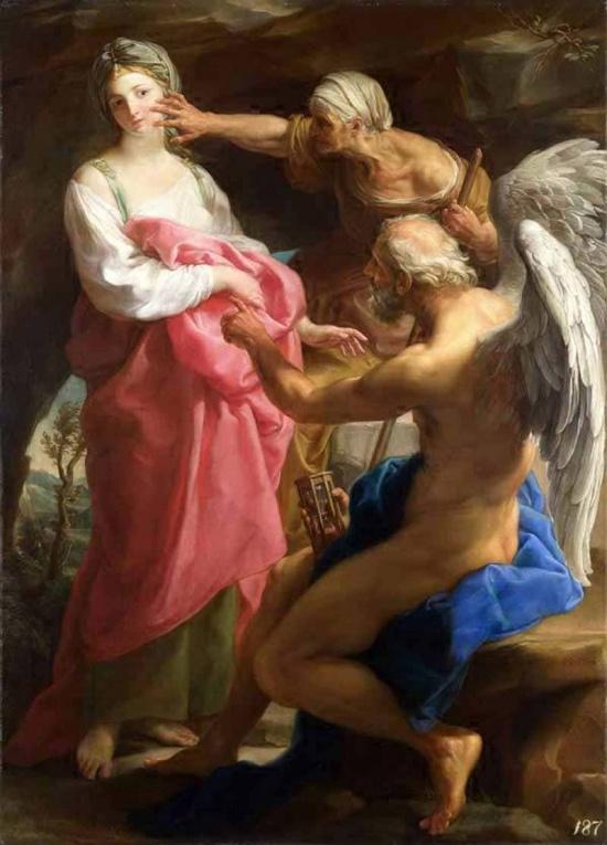 художник Помпео Джироламо Батони (Pompeo Girolam Batoni) картины – 15