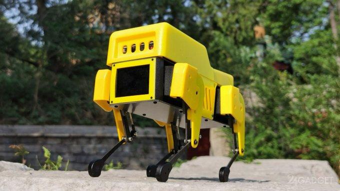 Собакообразный робот Mini Pupper по цене 589 долларов