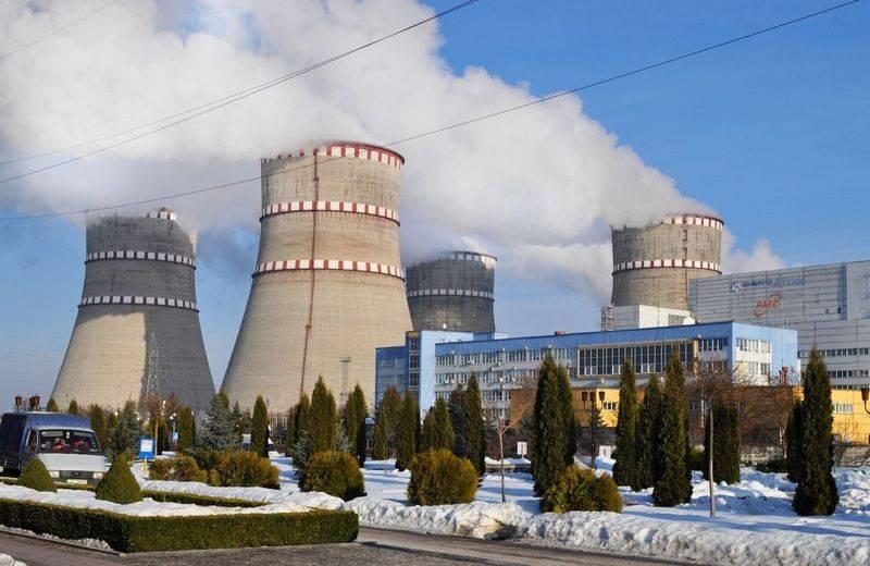 На Ровенской АЭС Украины сработала аварийная защита