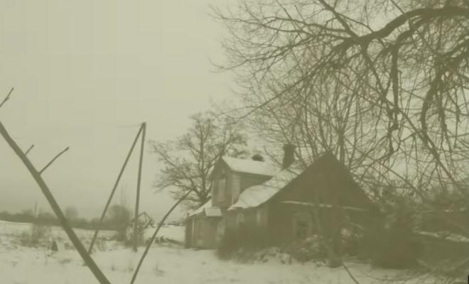 Секретная комната заброшенной усадьбы: черный кладоискатель обнаружил тайную дверь