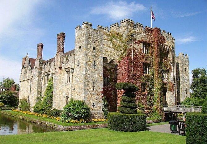 7. Замок Хевер – Кент, Англия история, привидения, факты