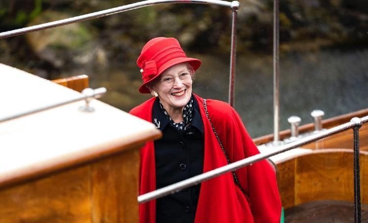 Королева Дании Маргрете II открыла парусный сезон