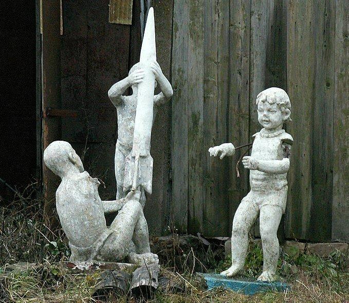 Всем ребятам пример! Статуи пионеров, которые дошли до наших дней СССР, город, ностальгия, памятник, память, пионер, пионерия, эстетика