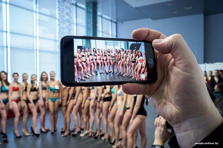 Кто пришел на минский кастинг конкурса красоты «Мисс Беларусь»-2018