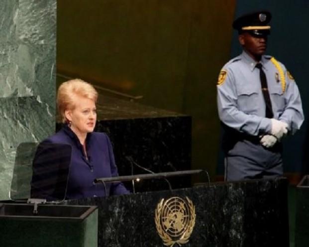 В Сети шутят про уход делегации РФ с выступления президента Литвы