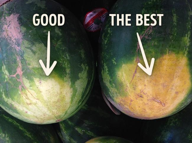 Как правильно выбрать сочный и сладкий арбуз арбуз,полезные советы