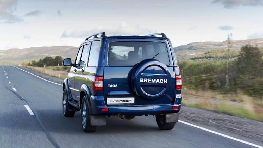 Догнать и перегнать: УАЗ Патриот переименовали в Bremach Taos и отправили в США авто,авто и мото,автосалон,водителю на заметку,машины,новости автомира,пдд,ремонт,Россия,тюнинг