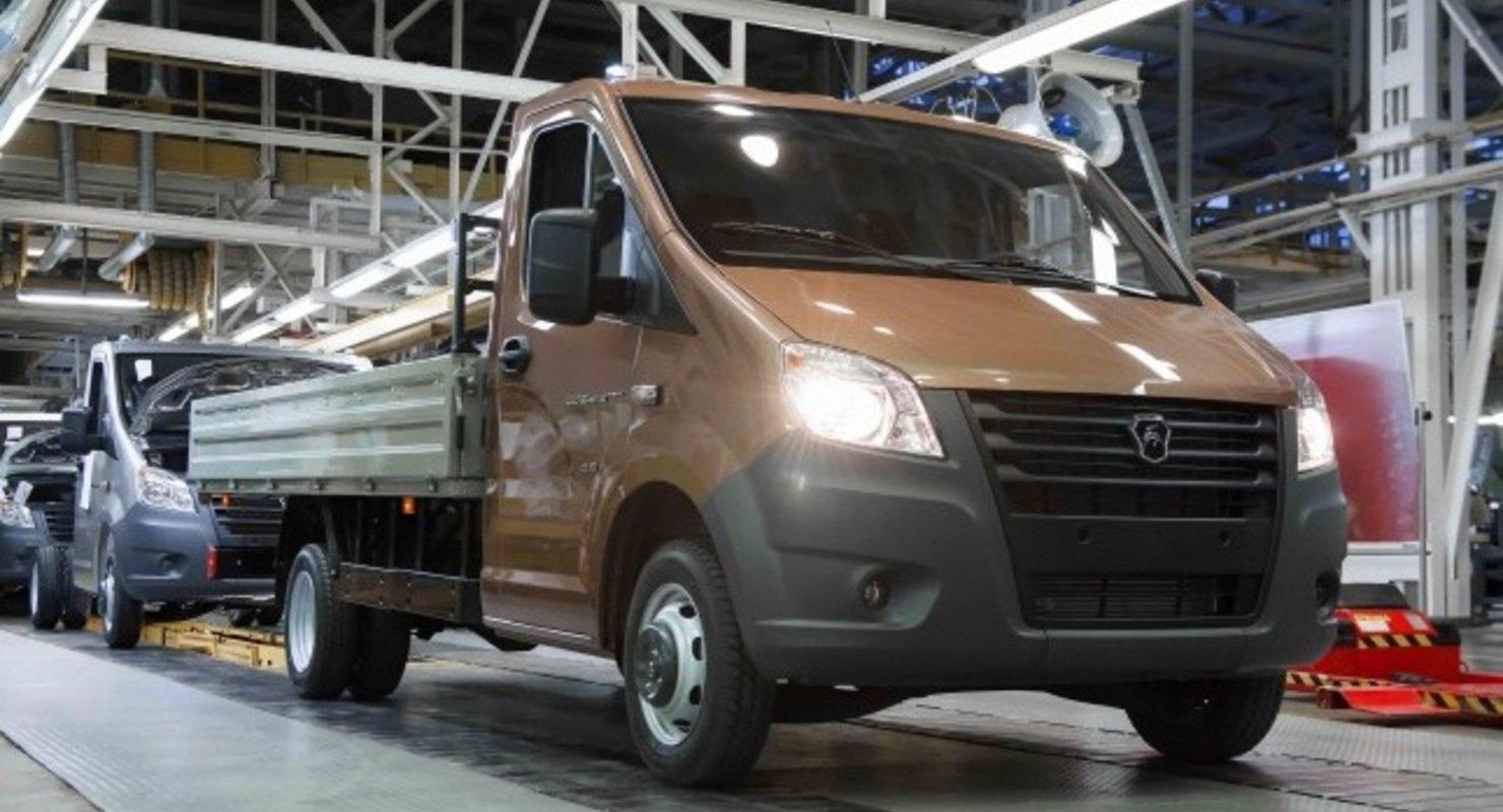 ГАЗ нарастил производство LCV на 19% в I квартале 2021 года Автомобили