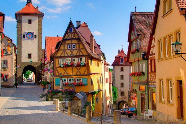 Ротенбург-на-Таубере — город-сказка, существующий наяву