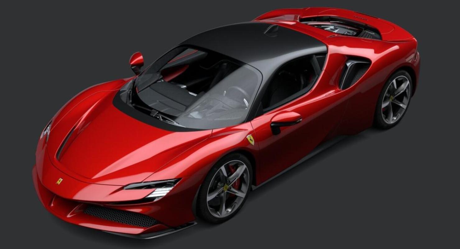 На тестах был замечен прототип гибридного суперкара Ferrari Автомобили
