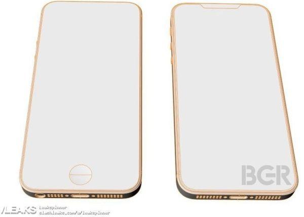Опубликовано фото первого макета смартфона iPhone SE 2