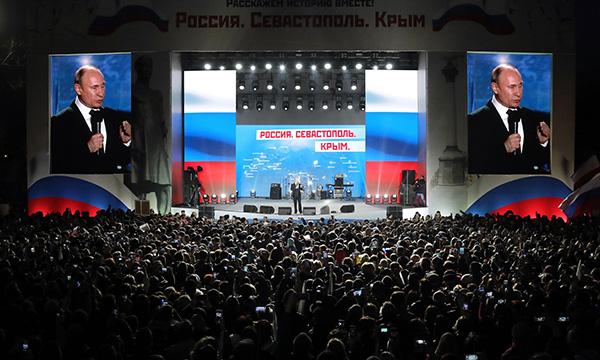 Митинг-концерт в Севастополе собрал около 40 тыс человек – власти города