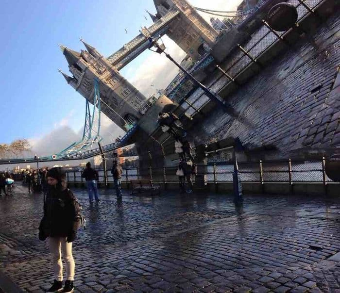 My Friend Is Studying Abroad In London And Took A Failed Panorama