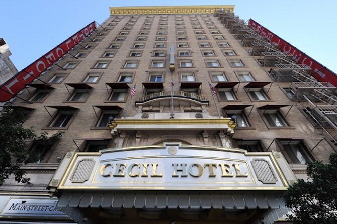 3. Отель «Сесиль» – Лос-Анджелес, Калифорния история, привидения, факты