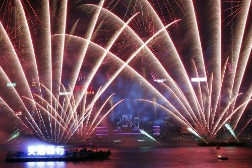 Как встретили Новый год в разных уголках планеты 2019