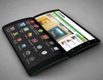LG запатентовала смартфон с 3 экранами, а сети есть видео прототипа