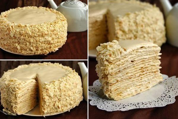 Торт «Наполеон особенный» с …