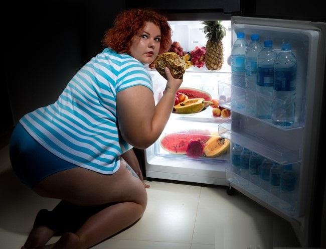 Без любви женщины толстеют