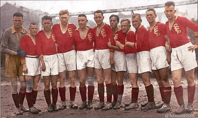 Сборная СССР по футболу, 1927 год. история, классика, фото
