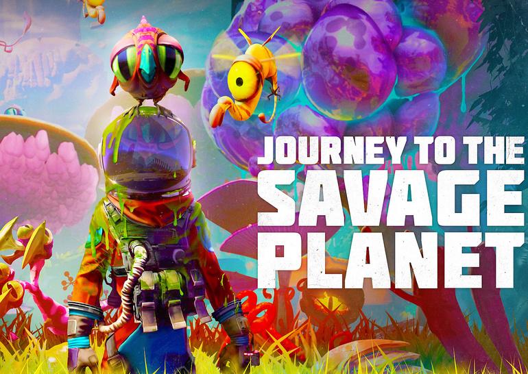 Journey To The Savage Planet: аттракцион «Космос»