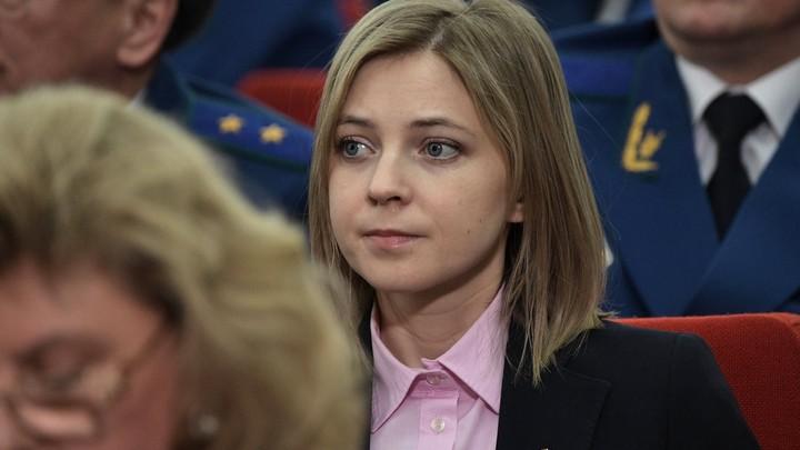 """Со всех сторон - взгляды, словно пули: Поклонская рассказала, как ее пыталась наказать """"Единая Россия"""""""