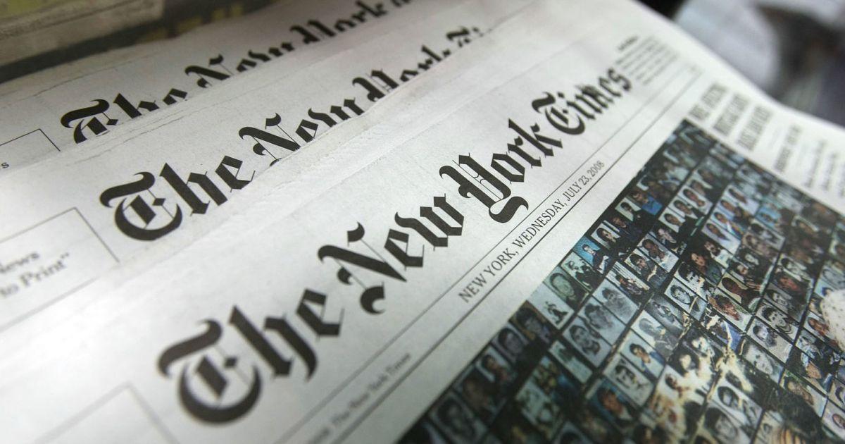 Украина обвинила New York Times в работе на Россию