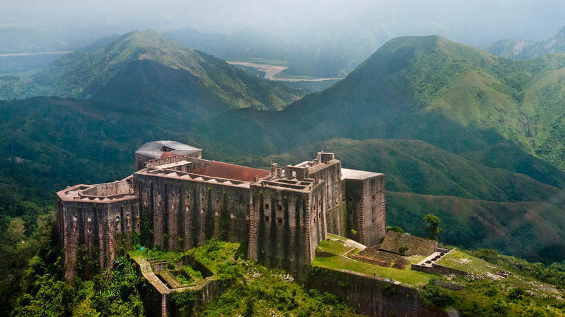 Неприступная крепость острова Гаити, на которую ни разу никто не нападал архитектура,Путешествия,фото