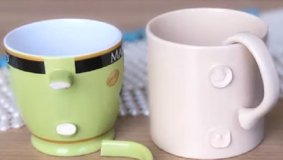 Отличный способ утилизации сломанных кружек и чашек