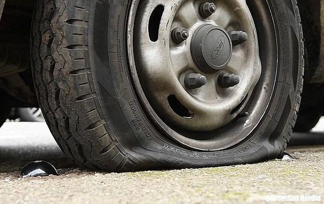 Кнопка для борьбы с неправильной парковкой наглых водителей