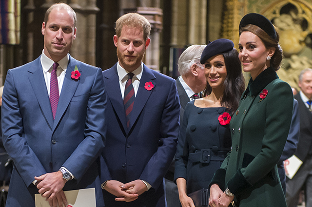Инсайдер рассказал, как герцоги Кембриджские отнеслись к интервью Меган Маркл и принца Гарри Опре Уинфри