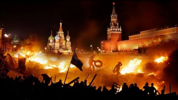 Либералы верят в победу кровавого майдана в России