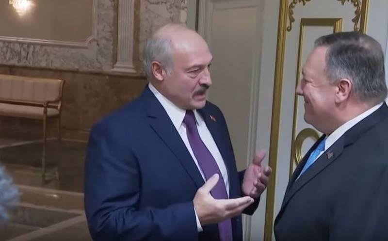 Лукашенко - Помпео: Наш главный союзник – Россия