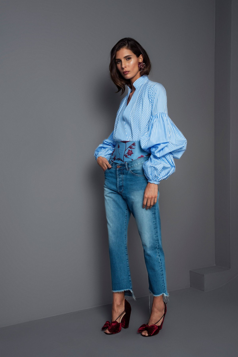 Джинсы, джинсы и еще раз джинсы: 40+ шикарных идей и образов