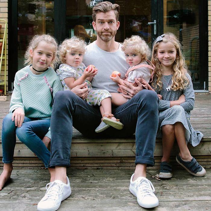 Отец четырех дочек открывает реалии своей нелегкой жизни воспитание,Дети,Жизнь,Истории,Отношения,проблемы