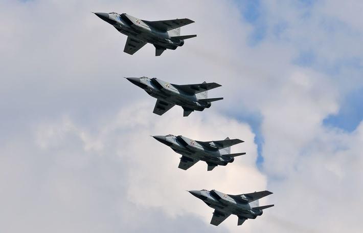 Шесть истребителей-перехватчиков МиГ-31БСМ поступили на вооружение летчиков ЦВО