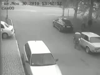 В Симферополе сбили Гаишника