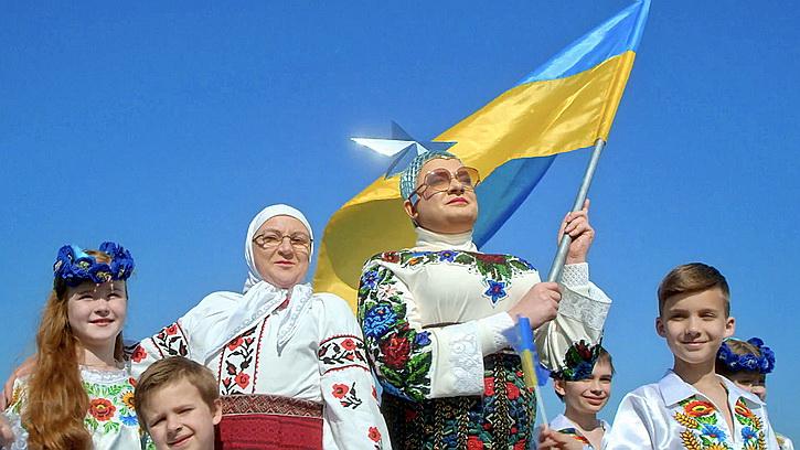 Верка Сердючка продолжает зарабатывать в России, но остается украинским патриотом