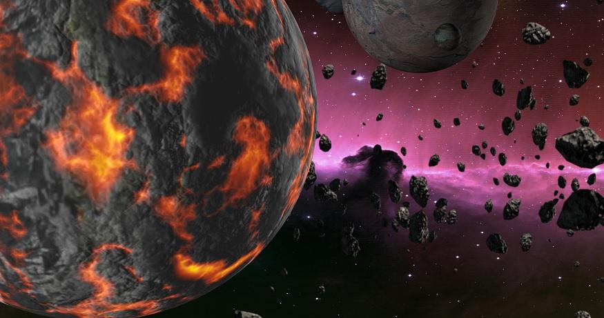 По всей Земле разбросаны обломки одной планеты