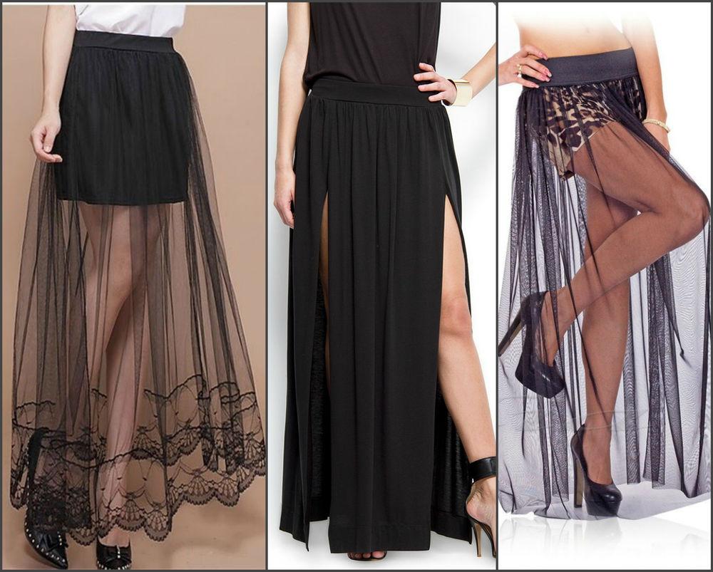 Макси-юбка: стильно, женственно, шакарно