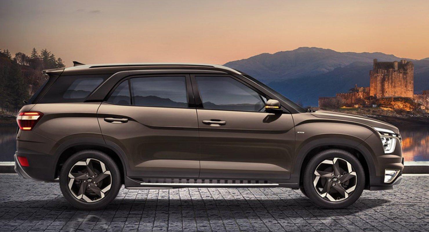 Hyundai начал принимать заказы на семиместную модель Creta Автомобили