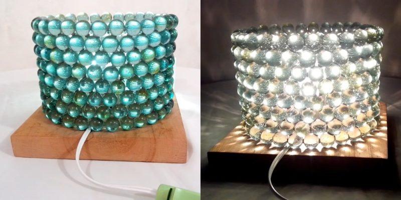 Посмотрите, какую красоту можно сделать из простых стеклянных камушков