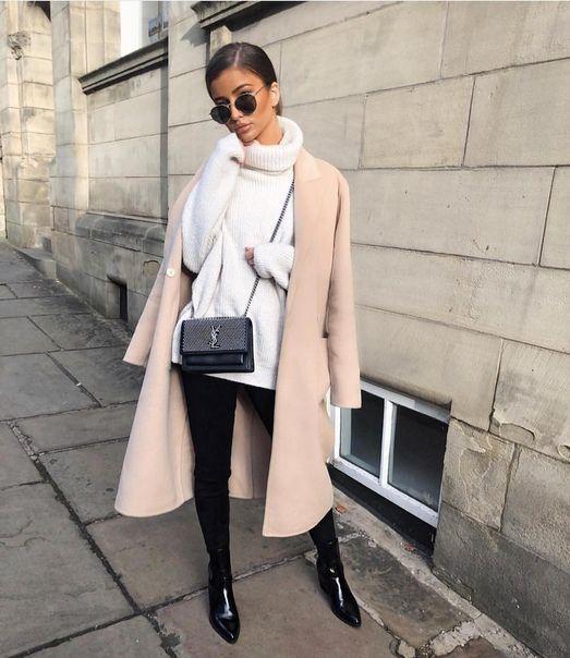 Как носить пальто весной: 15 вдохновляющих street-style образов лучшее
