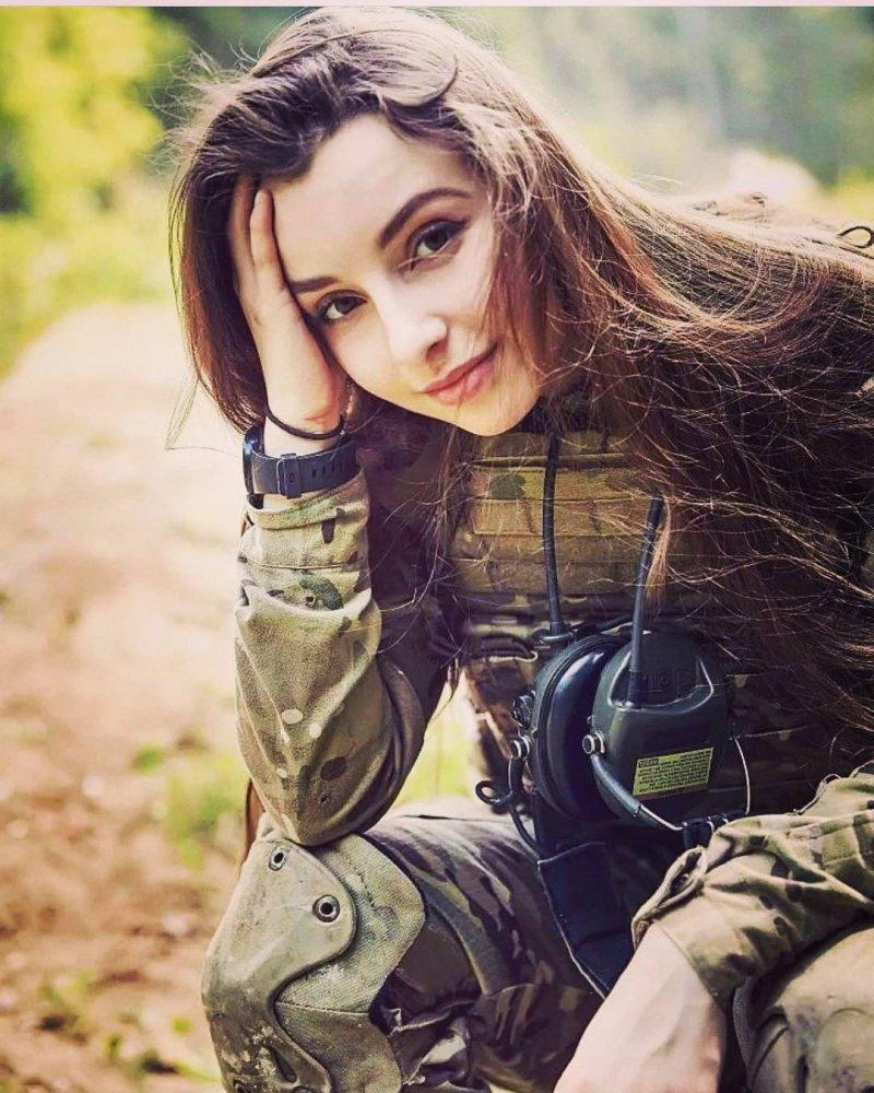 Army girl masterbates 2