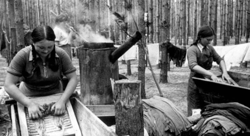 Банно-прачечные комбинаты — публичные дома или «фабрики чистоты», в которых ковалась Великая Победа?