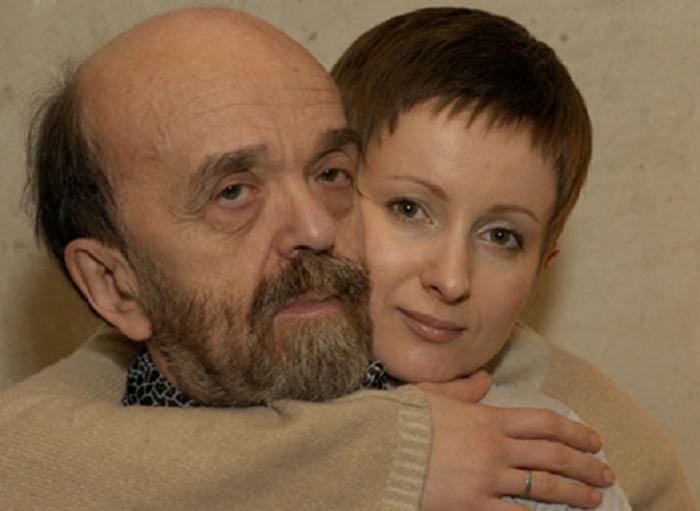 Владимир Федоров и его жена