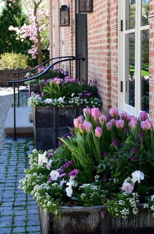 Цветы в горшках, вазонах и контейнерах. поделки для сада,разное,украшения